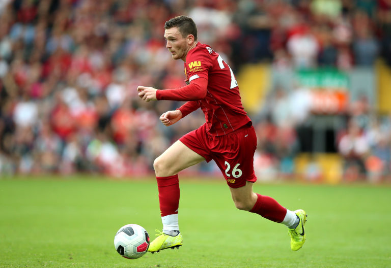 Andy Robertson has proved a transfer bargain at GBP 8million
