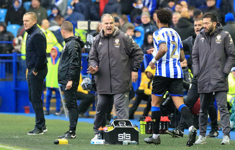 Carlos Corberan, right, is expected to become Huddersfield's new manager