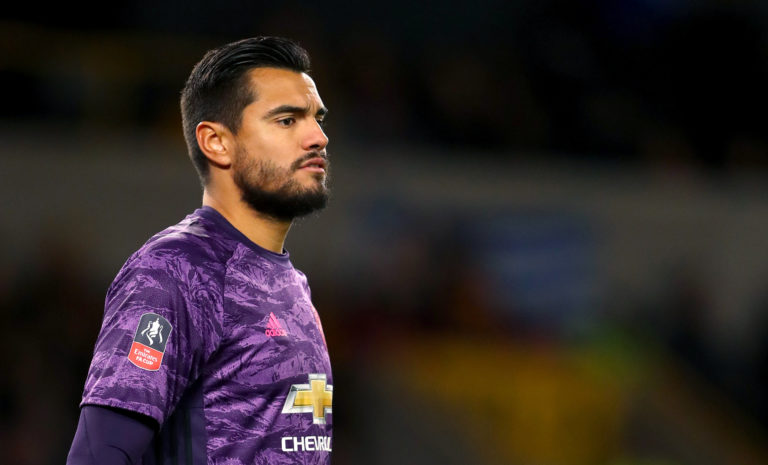Argentina international Sergio Romero had played in every round of the FA Cup until Sunday