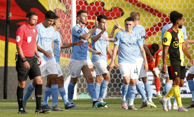 Watford v Manchester City – Premier League – Vicarage Road