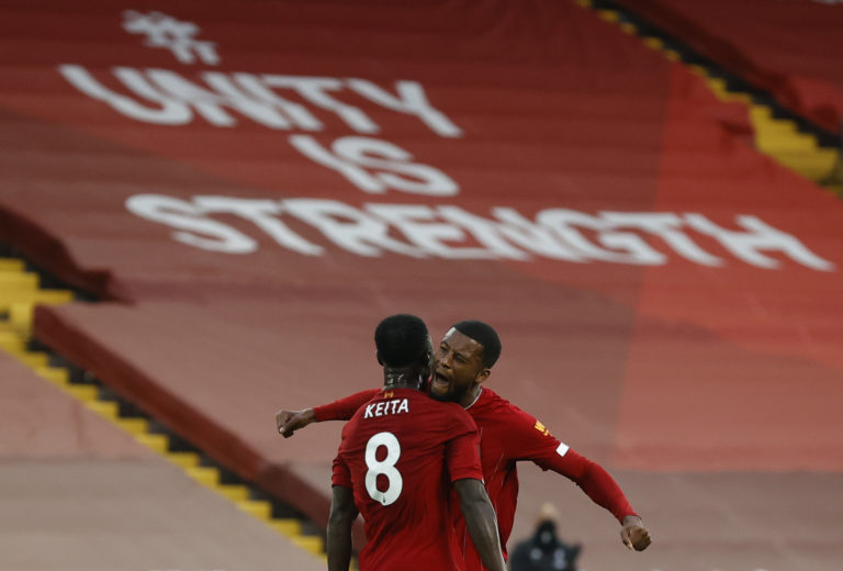 Liverpool's Naby Keita impressed on Wednesday