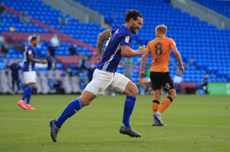 Cardiff's win against Hull was their third successive victory (Adam Davy/PA).