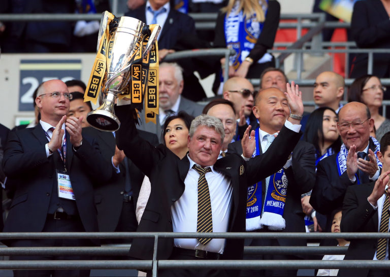 Steve Bruce won promotion to the Premier League with Hull on two occasions