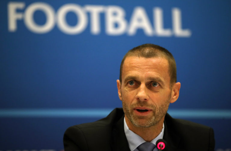 UEFA, whose president Aleksander Ceferin, pictured, has previously called for the Carabao Cup to be scrapped, says it will look kindly on