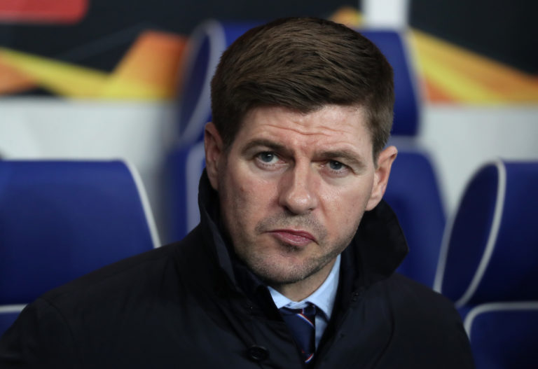 Steven Gerrard's players coped well with the delay