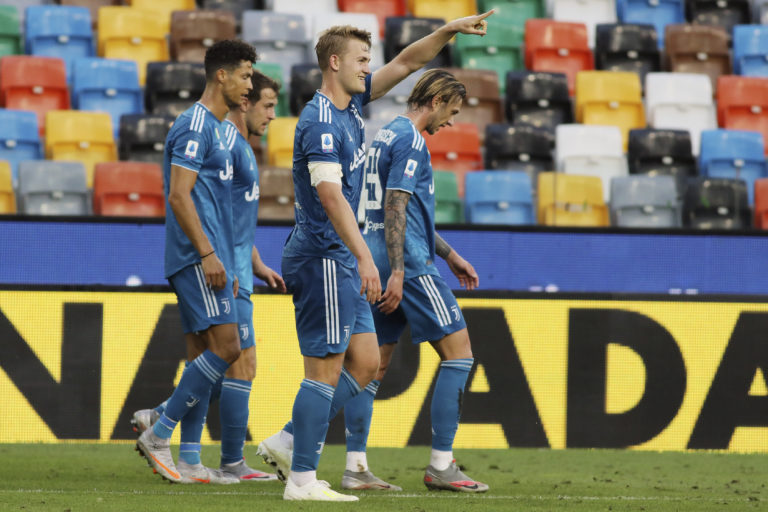 Matthijs De Ligt had scored for Juventus