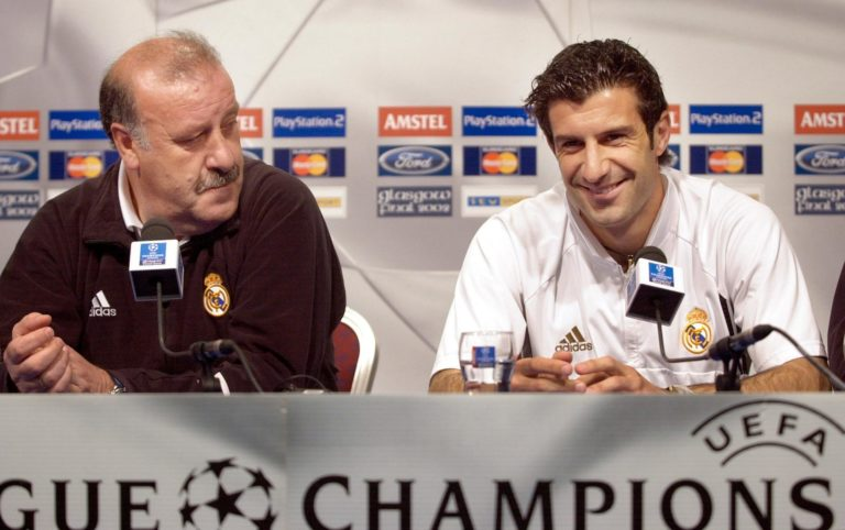 Luis Figo was the main transfer target of new Real Madrid president Florentino Perez