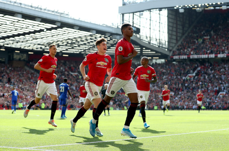 Marcus Rashford secured Manchester United a 1-0 win against Leicester in September