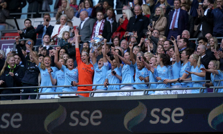 Manchester City beat West Ham in the 2019 final