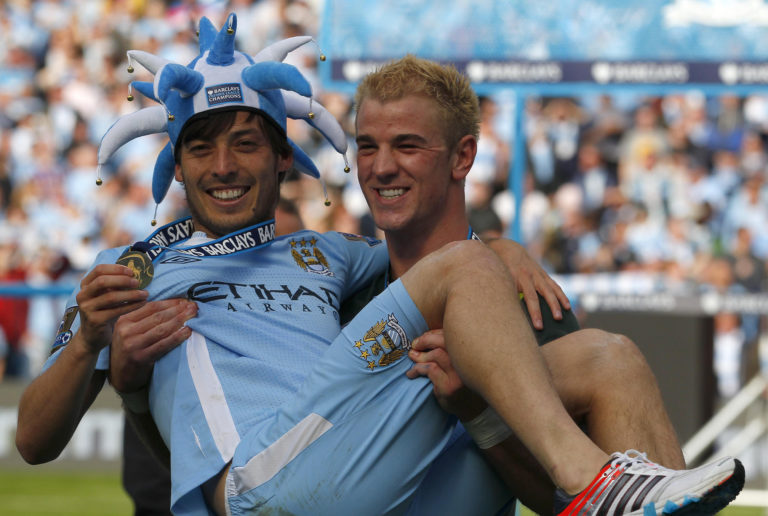 Silva's contribution helped City secure the title on a dramatic day in 2012