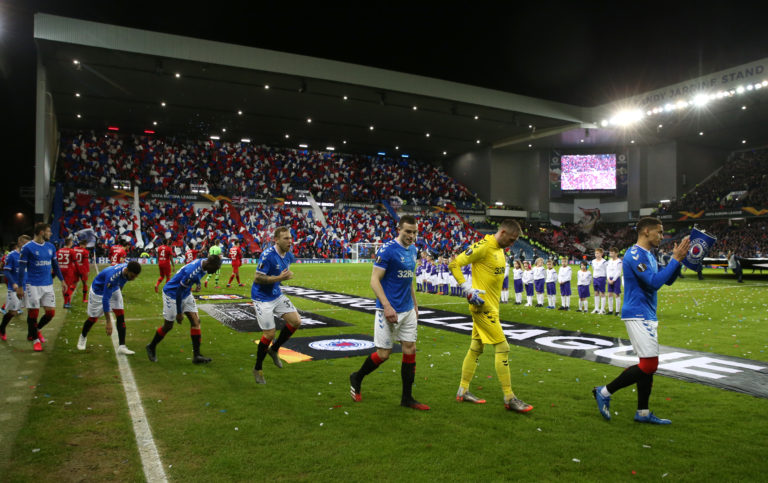Rangers travel to Germany next month for the delayed second leg of their Europa League last 16 showdown with Bayer Leverkusen