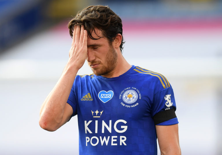Ben Chilwell will miss the match