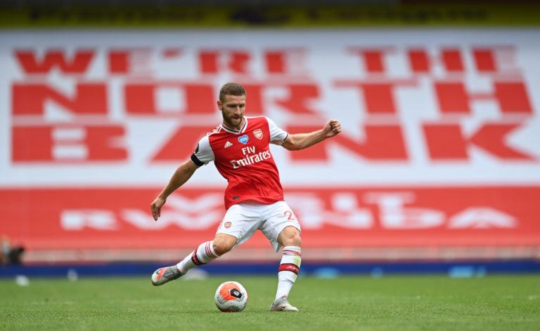 Mustafi had been enjoying a run in the Arsenal side before getting injured.