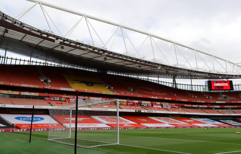 Watford will be looking to secure safety at an empty Emirates Stadium.