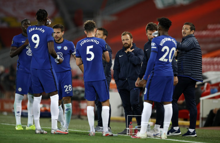 Chelsea's defensive woes were exposed at Anfield on Wednesday