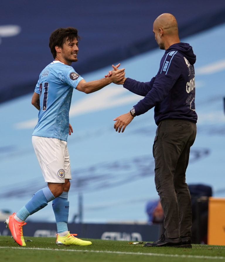 David Silva has said goodbye to the Premier League