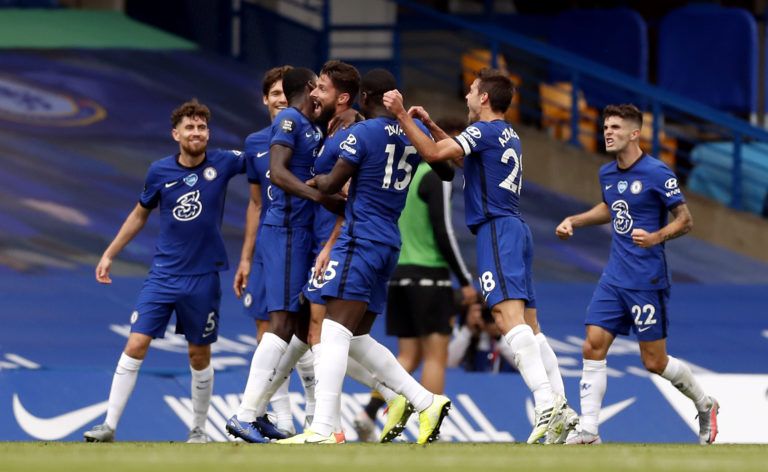 Chelsea are heading for the Champions League