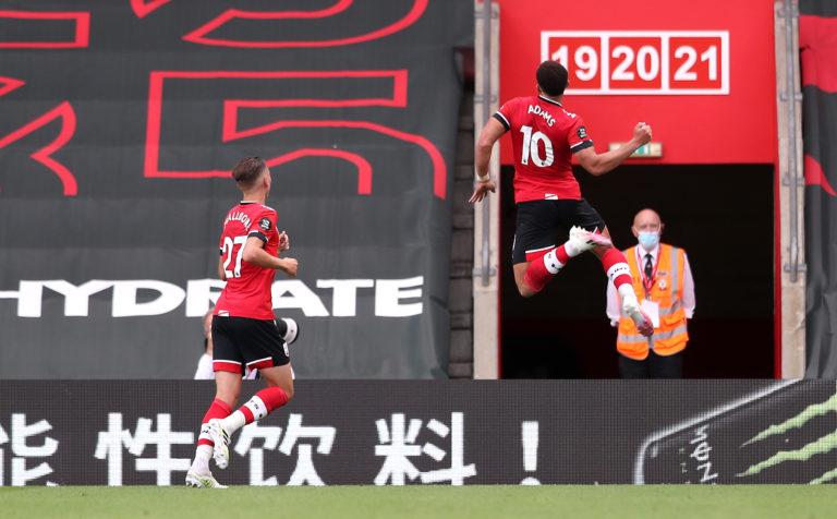 Southampton's Che Adams (right) celebrates