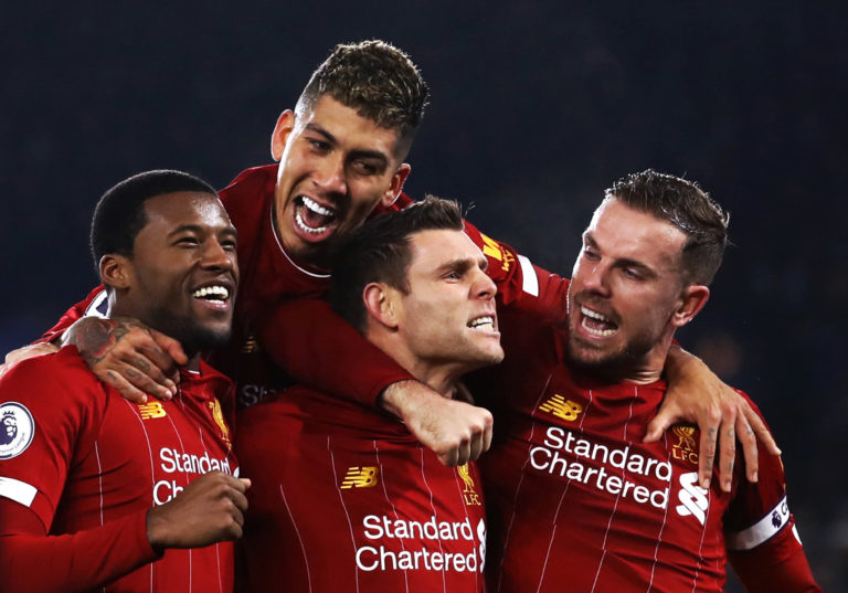 Liverpool thrashed Leicester on Boxing Day