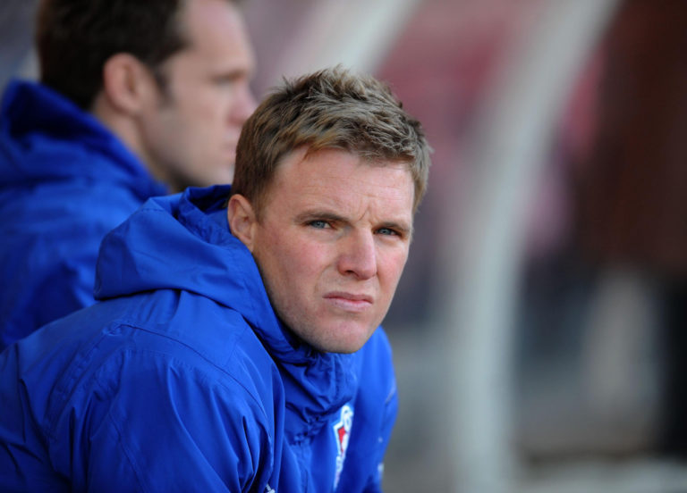Eddie Howe began his first spell as Bournemouth boss during the 2008-09 campaign when the club were in League Two