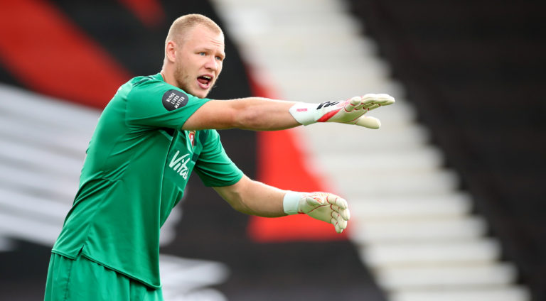 Bournemouth goalkeeper Aaron Ramsdale has missed just one top-flight game this term