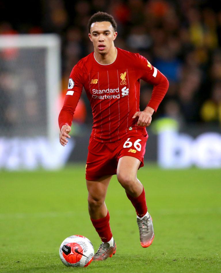 Liverpool's Trent Alexander-Arnold has enjoyed another fine season