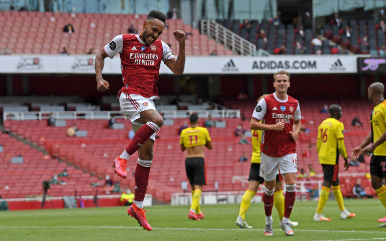 Pierre-Emerick Aubameyang's goals have been vital to Arsenal