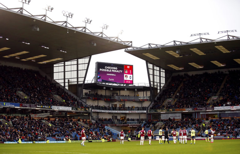 VAR again took centre stage at Turf Moor