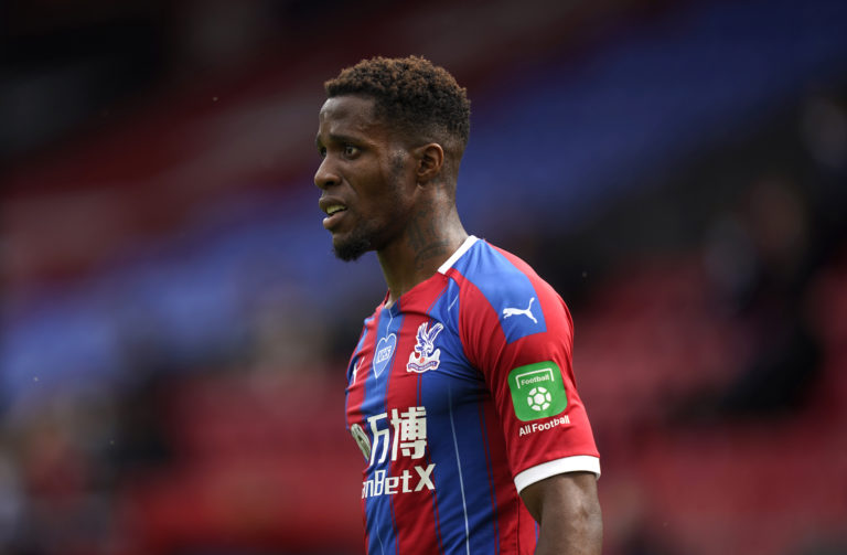 Wilfried Zaha enjoyed another stand-out season at Crystal Palace.