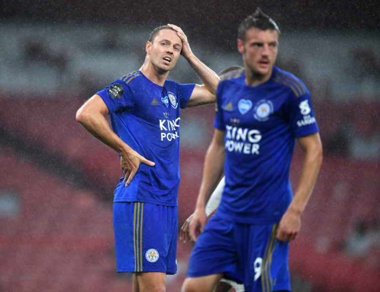 Leicester's season stuttered after the lay-off.